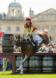 Sarah Stretton and SKIP ON - Cross Country - Mitsubishi Motors Badminton Horse Trials 2013.