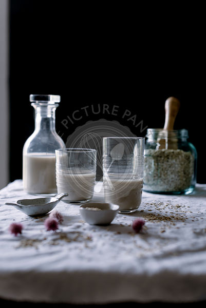 Homemade Oatmeal milk
