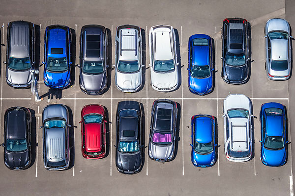 Small Carpark Abstract