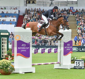 Kevin Staut and For Joy Van'T Zorgvliet Hdc  - FEI Nations Cup, Dublin Horse Show 2017