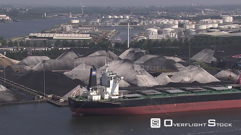 Coal and shipping port Netherlands