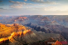 First light over Grand Canyon, Arizona, USA