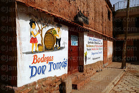 Bodega Don Tomas wine shop, Villa Abecia, Chuquisaca Department, Bolivia