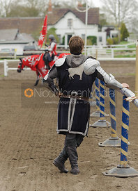 Stock images of jousting