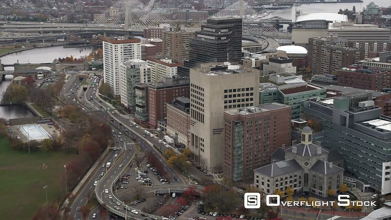Past Massachusetts General Hospital, Boston. Shot in November