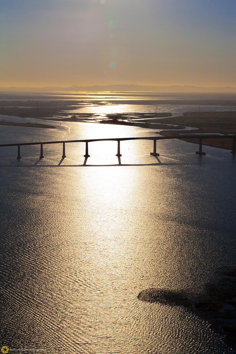 Aerial View of the Antioch Bridge #3