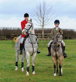 Nicholas and Amelia Leeming - The Cottesmore Hunt at Pickwell 21/12