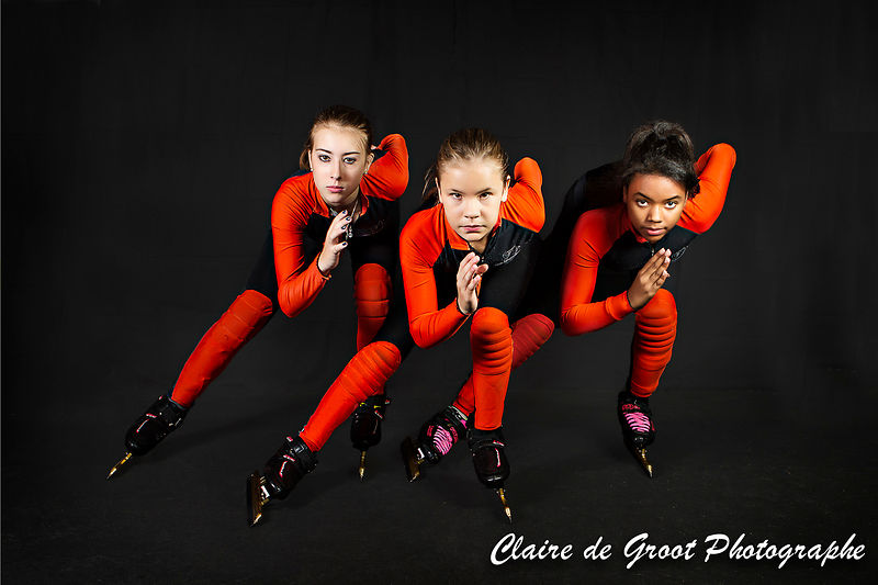 1. My favourite photo of 2014 is this photo of the CGALE Short Track girls focussing on the competitions ahead.