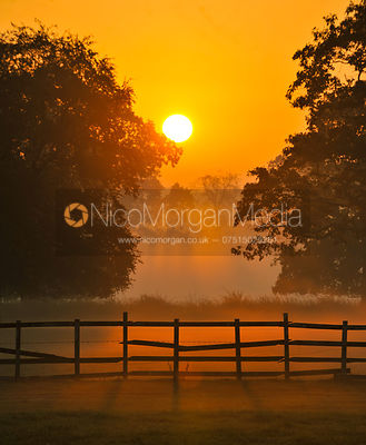 Dawn over Osberton Horse Trials photos