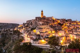 Dawn over the Stones of Matera, Basilicata, Italy