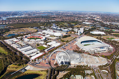 Sydney Olympic Park, Homebush Bay
