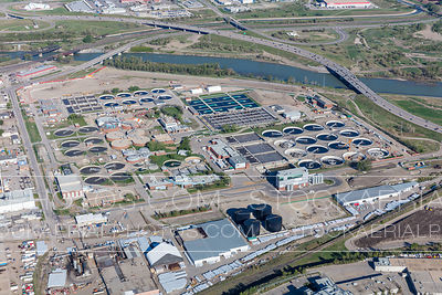 Bonnybrook Wastewater Treatment Plant, Calgary
