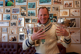 The Curzon Cup at The Cresta Run of the SMTC Saint Moritz Tobogganing Club since 1884/85