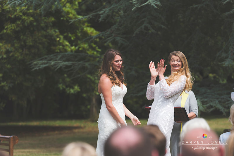 Lauren & Rebecca - Studland Bay House Wedding, Dorset