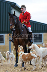 Andrew Osborne MFH, huntsman of the Cottesmore Hunt