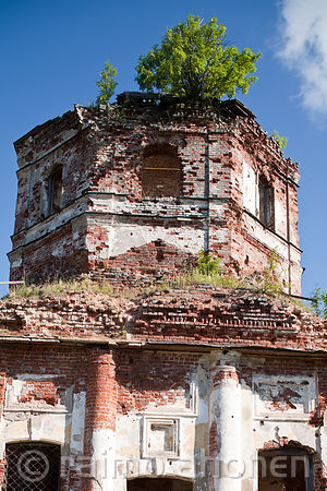 Ruins of the church of Salmi