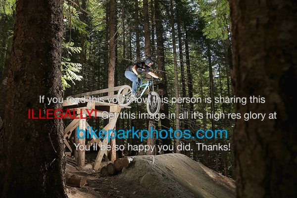 Sunday July 22nd Fade to Black bike park photos