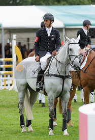 Andrew Nicholson - Burghley Horse Trials 2013.
