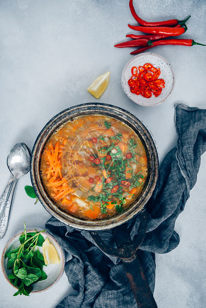 Vegan Carrot Soup