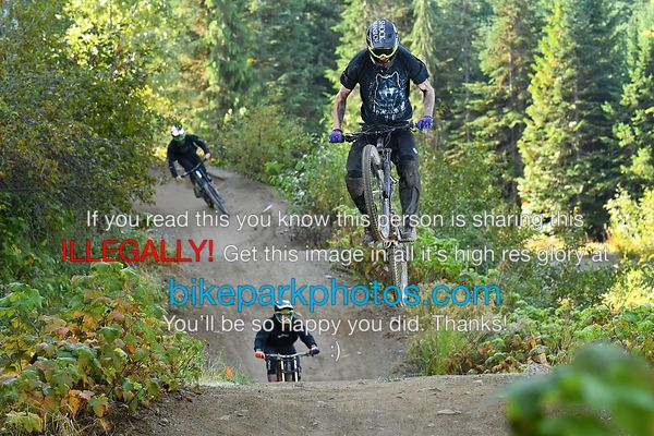 Tuesday September 25th Aline First Hit bike park photos
