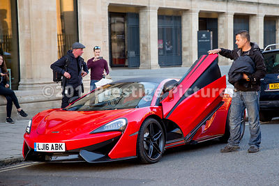McLaren 570S as featured in the movie Transformers 5