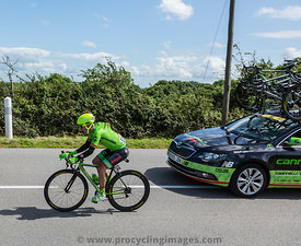 The Cyclist Tom-Jelte Slagter - Tour de France 2016