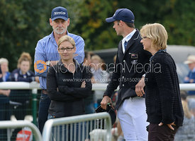 Team Paget - show jumping phase, Burghley Horse Trials 2014.
