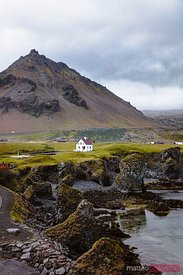 House near the coast, Snaefellsnes peninsula, Iceland