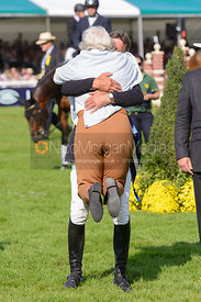Andrew Nicholson and Rosemary Barlow - The Prize Giving, Burghley Horse Trials 2014.