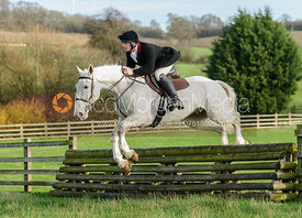 jumping a hunt jump from the meet