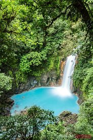 Rio Celeste (turquoise) waterfall, Costa Rica