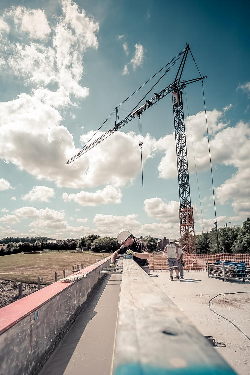 Photographe suivi de chantier
