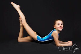 Gymnastics studio sports portrait