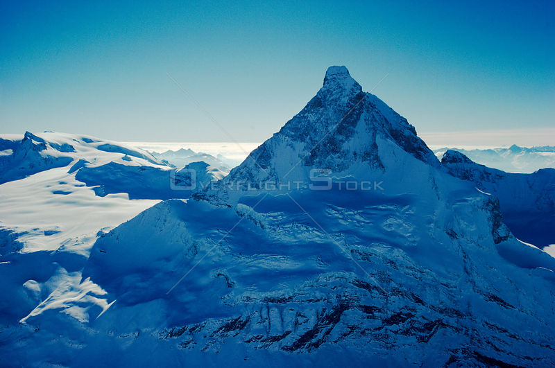 North face of Matterhorn, Switzerland, Europe