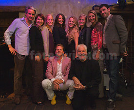 Guests and Staff at Festival da Jazz- Live at Dracula Club in St.Moritz on Last Evening.