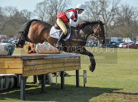 Willa Newton and NEELIX - Belton Horse Trials 2012