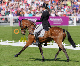 Lucy Jackson and WILLY DO - Dressage - Mitsubishi Motors Badminton Horse Trials 2013.