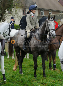 Isobel McEuen - The Cottesmore Hunt meet at Oak House, Tilton On The Hill, Saturday 31st October 2015.