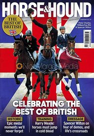 Horse & Hound cover Feb 4 featuring William Fox-Pitt