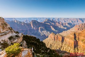 Bright Angel Point, Grand Canyon at sunrise, USA