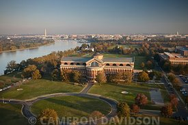 Aerial Photograph of the National War College in Washington DC
