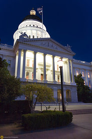 The State Capitol Building at Nibght #7