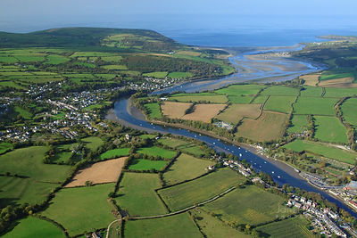 ST DOGMAELS AND TEIFI ESTUARY