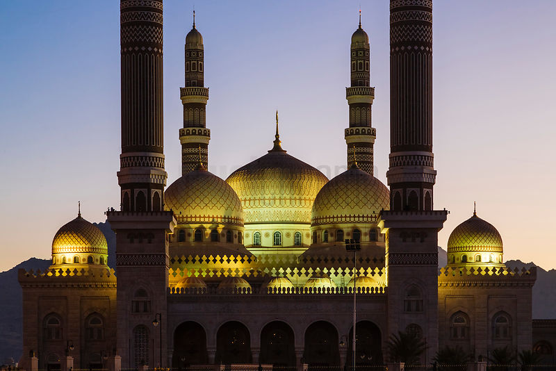 Al Saleh Mosque at Dawn