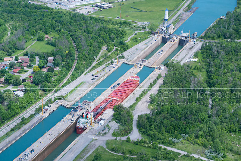 Cargo Ship in the Saint Lawrence Seaway