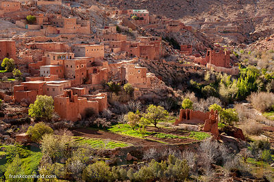Mountain village Morocco