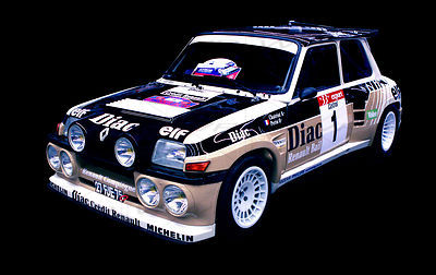 Renault 5 Turbo 2 Art Photographs