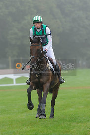 Michael Owen and THE HIGHLAND PRINCE - cross country phase,  Land Rover Burghley Horse Trials, 6th September 2014.