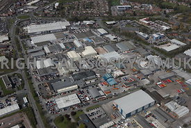 First, Second,Third Avenue and Gateway on Crewe Industrial Estate