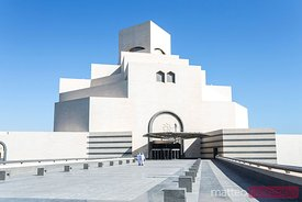 Qatar, Doha. Museum of islamic art